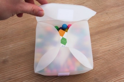 Reusable sandwich holder - clever