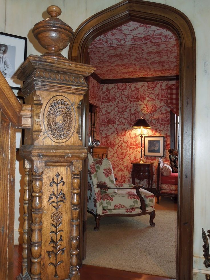 Victorian Design Interiors Decor Homes Era Aesthetic Movement Banisters Make A Difference Stairways