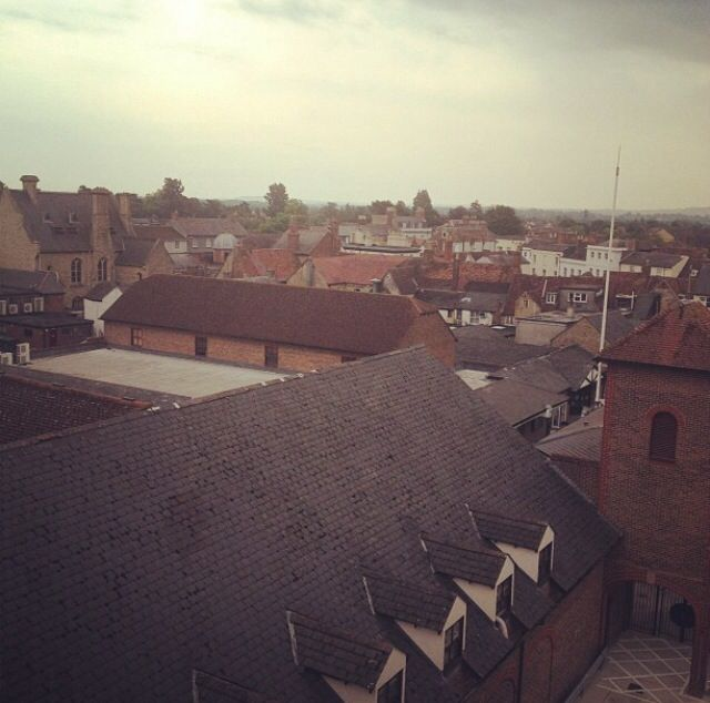 Bicester Town roof tops