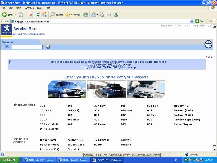 peugeot service box installation instructions:   automotive