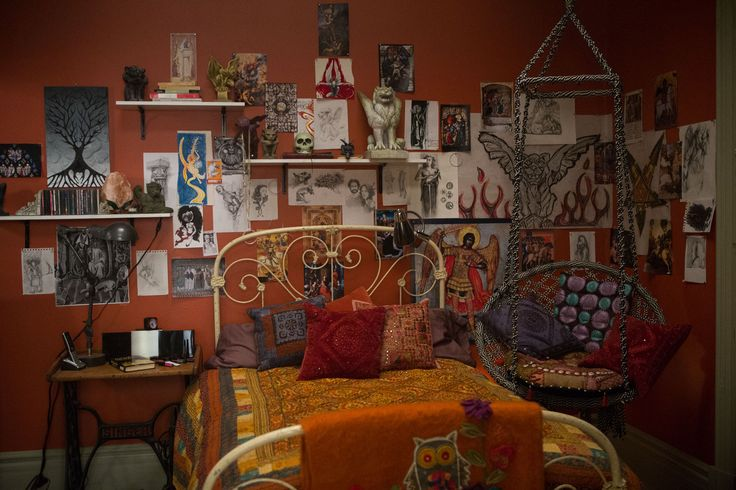 Clary Frays room - The Mortal instruments
