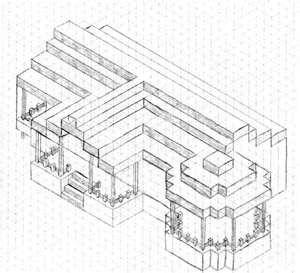 Minecraft house blueprint