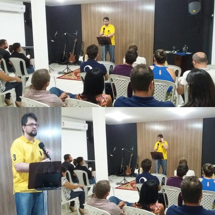 "Praise God for yesterday's service at the Defense of #Faith Ministries in #Natal #RN #Brazil.  I'm preaching the series ""#Bible from A to Z"" and the sermon was on the Book of #Genesis the theme being the Babel #Tower and its relation with the story of #Abraham.  Next Sunday (August 7th) I'll be preaching on the Book of #Exodus - more specifically on the reason why there is so much emphasis on #blood in the story of the #Bible.  God bless y'all.  Louvado seja #Deus pelo culto de ontem no…"