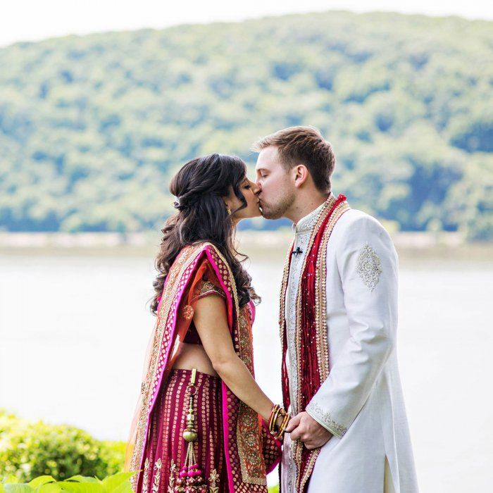 Vibrant Indian Fusion Wedding: Rupal and Mitchel in Poughkeepsie, NY