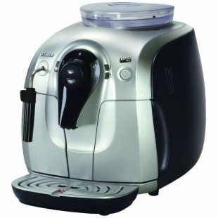 Saeco Xsmall Plus Super Automatic Espresso Machine Aluminum Use for store Display