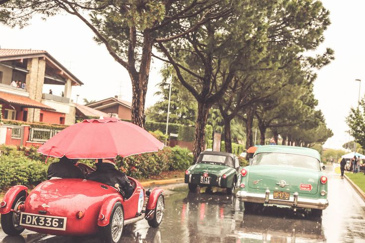 Old cars Mille Miglia Travel Italy