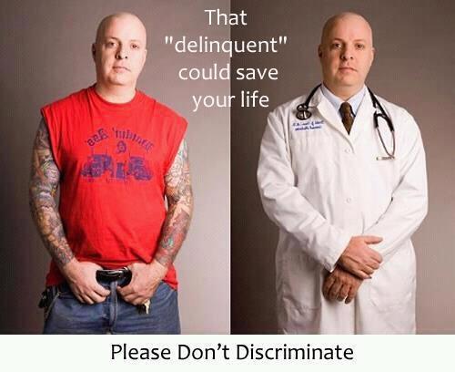 Don't discriminate