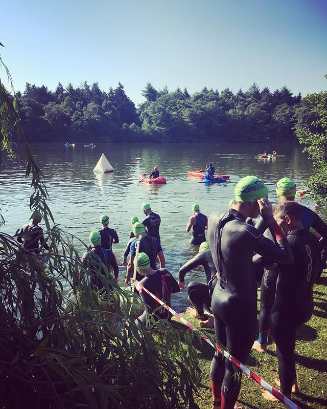 '#Swimmers getting ready for #frittonlaketri this morning at the #lake... . . . #Chiptiming #FrittonLake #norfolk #swim #cycle #run #Triathlon #triathlete #triathletes #swimming #running #cycling #sunny #sunday #secretgeek 👓 #socialmedia #fitness #event #eventprofs #socialmediamarketing #eventmarketing #digitalmarketing' by @roweface. What do you think about this one? @drinkswithaminister @miceagency @kindredresorts @greymattermagic @darling_events @fxp_emea @aaronkaufmancsep @ilea_nyc…