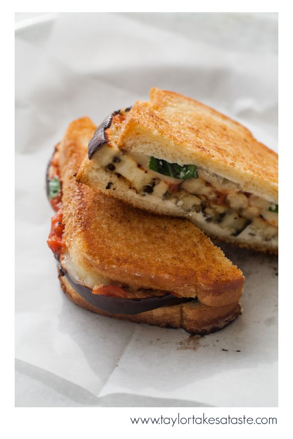Grilled Eggplant Parmesan Sandwich is the perfect menu item when you are looking to change up your menu. Vegetarian and non-vegetarian fans alike will love this delicious recipe!