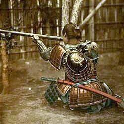 Despite being known for their swordsmanship, many samurai also carried guns.
