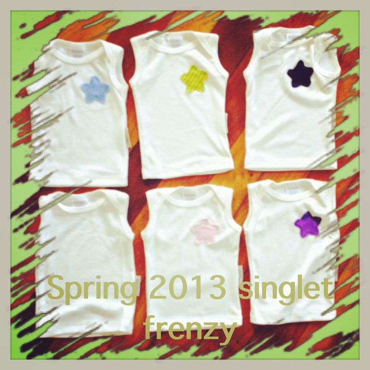 Spring Summer 2013 newborn singlet frenzy  Birth to three months organic cotton and bamboo your babies will not be sweaty or uncomfortable as the bamboo wicks away moisture.  Your babies will be more settled https://www.fourzero.com.au/store/pc/Summer-Singlet-p133.htm