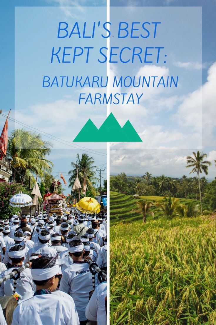 On the slopes of Mt.Batukaru lies the Batukaru Mountain Farmstay in the heart of an authentic Balinese farming community. Surrounded by mesmerizing scenery, you can visit temples, explore the paddies, trek in the jungle or simply relax and enjoy the peace and quiet away from the tourist bustle. Check out our article and find out how you can book for this quaint cabin for your next accommodation in Bali.