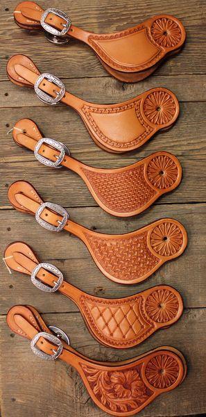 bib style spur strap