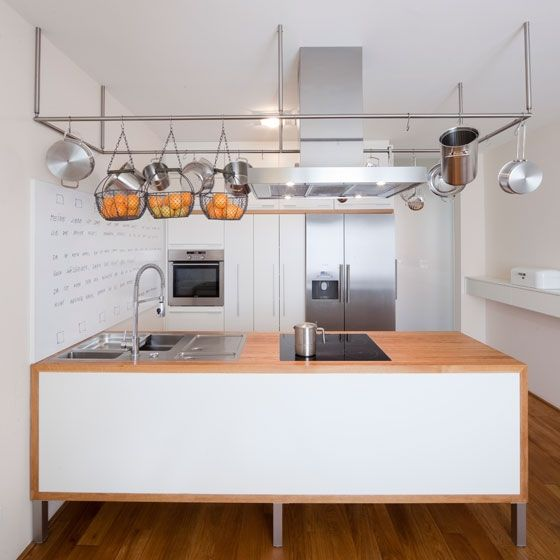 Small Apartment Minimalist Kitchen Interior Design Idea From Munich
