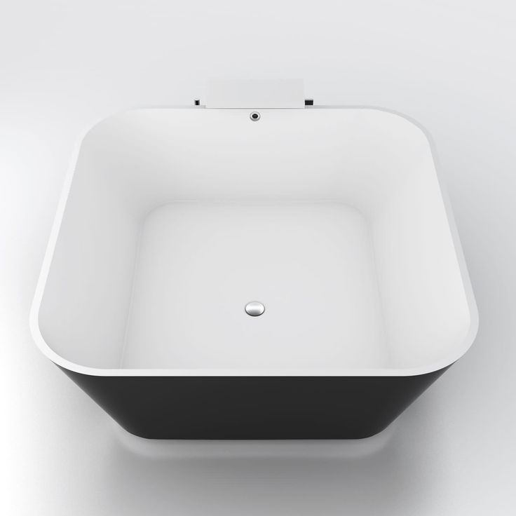 Baignoire à poser / carrée / en acrylique  ALFA ESSENTIAL HIDROBOX - ABSARA