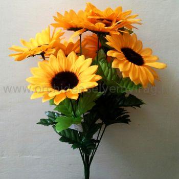 Napraforgó csokor 9 virággal