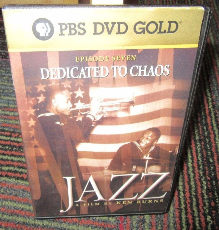 JAZZ: KEN BURNS FILM - DEDICATED TO CHAOS EPISODE 7 DVD, PBS GOLD, GUC