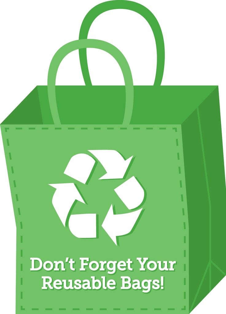 Did you know? If 25% of families used 10 less plastic bags a month, it would save more than 2.5 billion bags a year!
