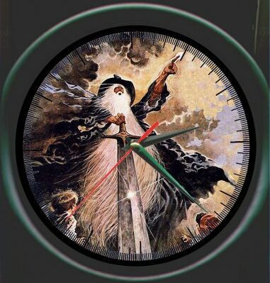 17 Best Images About Middle Earth Clocks On Pinterest