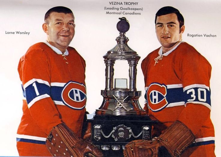 Gump Worsley and Rogie Vachon (1968-69)