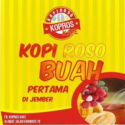 Client: kopros kafe Jember, east java, indonesia
