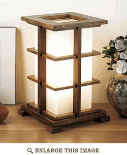 Accent Lamp Woodworking Plan, Gift Project Plan | WOOD Store