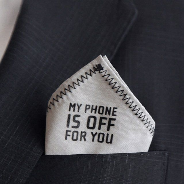 Truly valuable pocket square