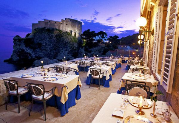NAUTIKA • Dubrovnik, CROATIA • This is Dubrovnik's nicest and most expensive restaurant. Nautika lies close to Pile Gate just outside the city walls. Its building dates from 1881 and it has two terraces overlooking the sea. • 020 442 526 • www.esculaprestaurants.com