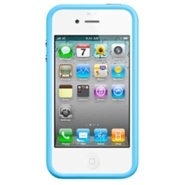 I love my iphone case but I would love nothing more than to make a bold statement with this bold blue bumper