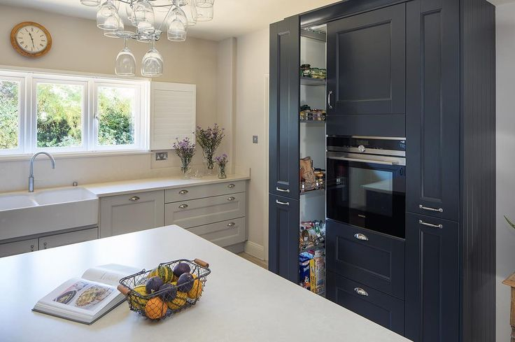 Mackintosh Kitchen unit in Anthracite with pull out storage and built-in Siemens oven from our most recent kitchen project in #andover #hampshire  Designed by @spillerskitchen  #kitchen #kitchenDesign #kitchenDesignIdeas #kitchens #kitchenlife  #kitchenworktop #granite #graniteworktops #heartofthehome #spillerskitchens #homehacks #dreamkitchen #dreamliving #loveyourlife #familytime