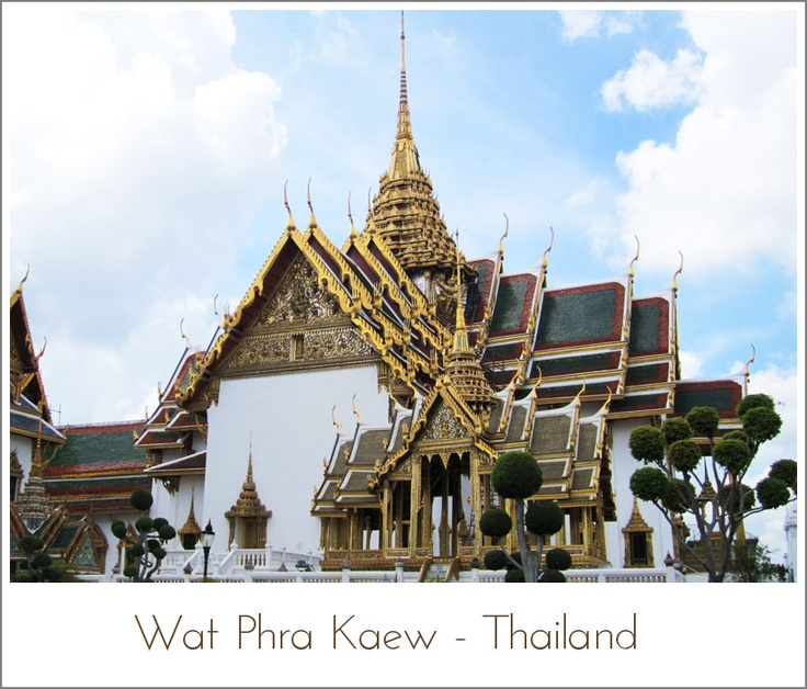 Wat Phra Kaew - Thailand | Man made wonders of the world | Pinterest