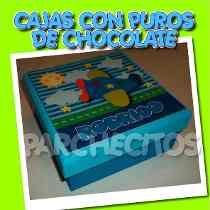 Puros De Chocolate Para Llegada Del Bebé