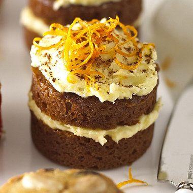 Mini Ginger Cakes recipe.