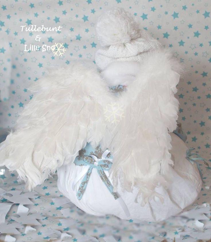 #Erbsünde #winterkleid  #evli'needle jersey #schneekristalle, #snowflakes  #winterdress #Dress #bubbledress #Angelcostum #engelskostüm