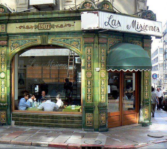 Cafe Las Misiones, sito en la Esquina de las calles Misiones y 25 de Mayo Ciudad Vieja-Montevideo