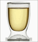 Happy Hour Glass - Double Wall Wine Glass