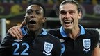Danny Welbeck (left) and Andy Carroll