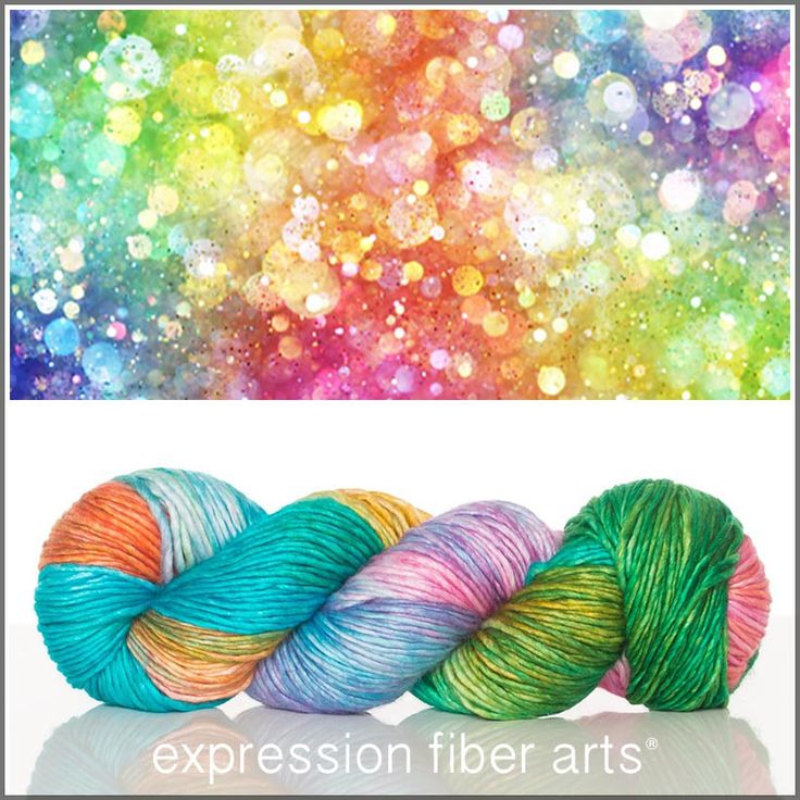YARN! Expression Fiber Arts, Inc. - RAINBOW OF LIGHTS SUPERWASH MERINO SILK PEARLESCENT WORSTED, $30.00 (http://www.expressionfiberarts.com/products/rainbow-of-lights-superwash-merino-silk-pearlescent-worsted.html)
