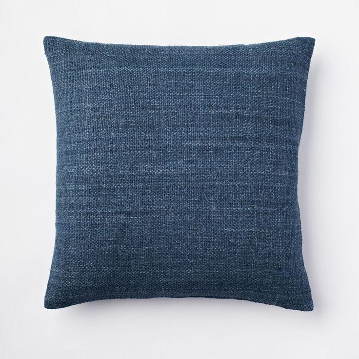 Silk Handloomed Cushion Cover – Blue Lagoon