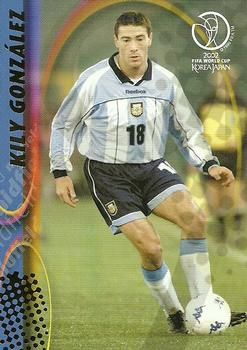 2002 Panini World Cup #23 Kily Gonzalez Front