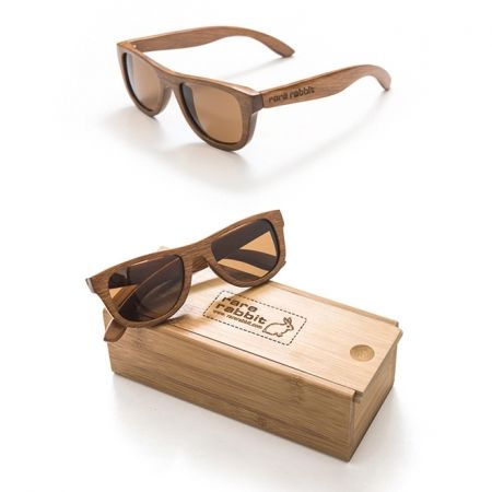 Small bond wood sunglasses in light natural - for my man