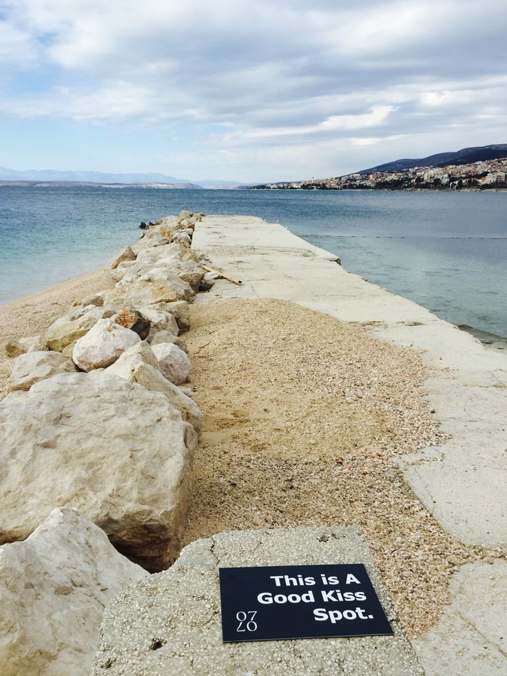 In Love in Crikvenica - This is a Good Kiss Spot in Selce, Croatia