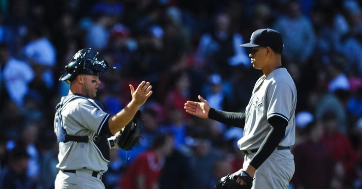 Yanks take series from Sox with game two win yesterday. Betances is untouchable with 4K's in 4 batters.. Yankees go for sweep tonight on ESPN's Sunday night game of the week!