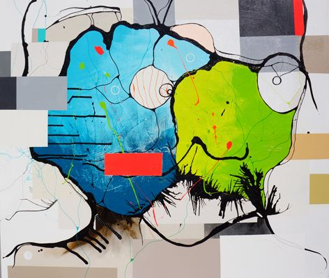 Taking Over<br>130X150cm