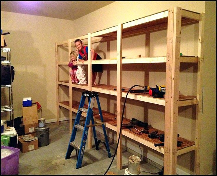 Best 25+ Garage storage racks ideas on Pinterest | Garage ...