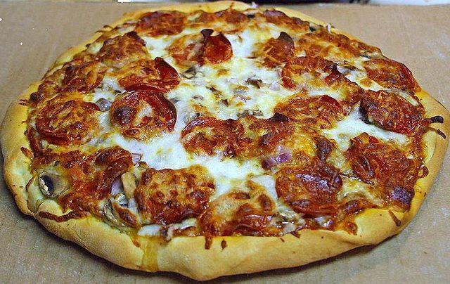Good pizza!