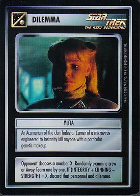 STAR TREK CCG REFLECTIONS VERY RARE YUTA for GBP1.95 #Collectables #Trading #Cards/ #REFLECTIONS Like the STAR TREK CCG REFLECTIONS VERY RARE YUTA? Get it at GBP1.95!