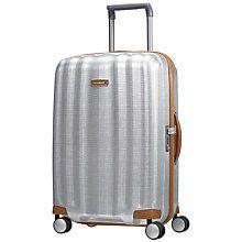 Buy Samsonite Litecube DLX 4-Wheel 68cm Medium Suitcase Online at johnlewis.com