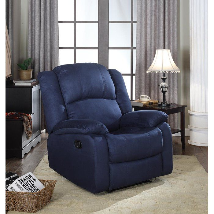 This recliner chair features a strong wood frame with soft foam and then enveloped in durable microfiber upholstery. Overstuffed padding for comfort. Choose from an array of colors that will best suit your personality or room. This large scale recliner also comes with full extension, high quality reclining mechanism, that is strong enough to withstand the rigors of daily use.