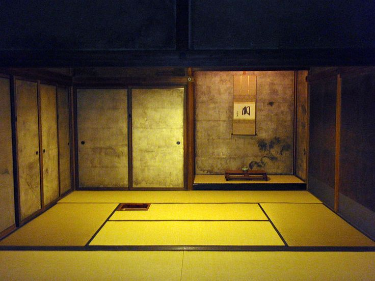 Japanese tea room (cyashitsu)